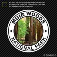 Muir Woods National Park Sticker Premium Die Cut Vinyl redwood hike camp