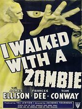 ADVERT CULTURAL MOVIE FILM ZOMBIE HORROR RKO RADIO USA AMERICA PRINT BB4640A