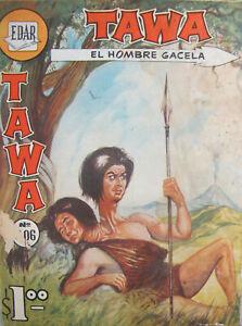 Tawa El Hombre Gacela  #306 Edar Comics Silver Age 1966 VG- Mexican Import RARE