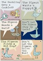 The Pigeon Pack Series 6 Books Collection Set (Pigeon wants a puppy..)