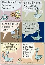Don't Let the Pigeon Series 6 Books Collection Set by Mo Willems NEW