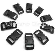 """FREE GIFT! 20 x 10mm (3/8"""") CONTOURED Buckles great for paracord bracelets!"""