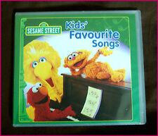 SESAME STREET CD - KIDS FAVOURITE SONGS -Fun Childrens ABC Music - New & Sealed