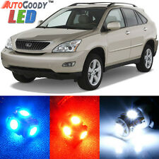 15 x Premium White LED Lights Interior Package Kit for Lexus RX330 RX350 RX400h