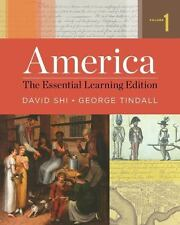 America: The Essential Learning Edition (Vol. 1), Tindall, George Brown, Shi, Da