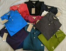Burberry Brit Men's Short Sleeve Nova Check Placket Polo Shirt S M L XL 2XL 3XL