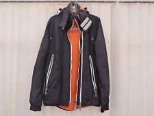 "Superdry Men's Hooded Windsprinter 360 Degree ZipUpTech NAVY Jacket XS chest 34"""