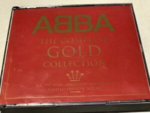 ABBA The Complete Gold Collection Ltd Edition Digitally Remastered 2 CD Fatbox.
