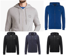 Hugo-Boss-Men's Sweat-Hoodie-Black-Grey-Navy-Royal Blue