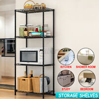 4 Tier Kitchen Rack Microwave Oven Stand Storage Cart Shelf Organization Rack