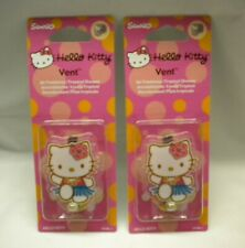 lot of 12 Hello Kitty Car Vent Air Fresheners carded wholesale 80 cents each New