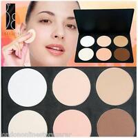 6 Colour Contour RADIANCE ULTRA Powder Concealer Makeup Palette & BRUSH