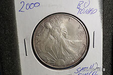 "2000 Silver American Eagle RAW  1oz US Mint Coin ""Fill your book""2"