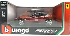 Bburago Ferrari Diecast Metal California T Red scale 1/24 New in Box