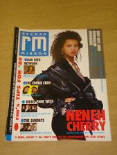 RECORD MIRROR 1989 JAN 7 NENEH CHERRY COOKIE CREW