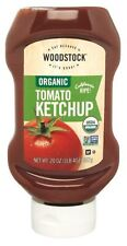 Woodstock Organic Tomato Ketchup Squeeze 567g x 6 Bottles