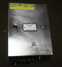 Stainless Steel Switch Board Enclosure with Pneumatic Valve Bank