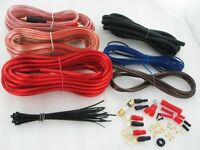 True 8 Guage Amplifier/Amp Wiring (Installation) Complete Kit +Free Prioity Mail