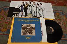 JEFFERSON AIRPLANE 2LP FLIGHT LOG 1°ST ORIG USA 1977 GATEFOLD TEXTURED+BOOK EX+