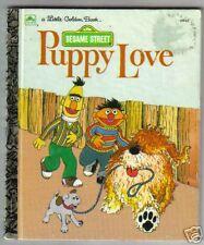 Little Golden Sesame Street  PUPPY LOVE  Ex 1992