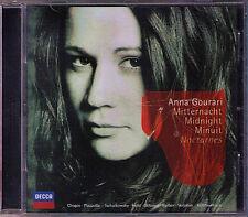 Anna GOURARI: MIDNIGHT NOCTURNES Field Piazzolla Clara Schumann Glinka Chopin CD