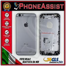 TELAIO SCOCCA POSTERIORE iPhone 6 BACK HOUSING Nero Black Space Grey