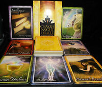SEALED & BRAND NEW! CHAKRA INSIGHT CARD & BOOK ORACLE CONNECT TO ENERGETIC BODY