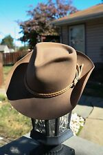 Outback trading co. broken hill collection 1413 Brumby Jack cowboy Hat 7 Brown