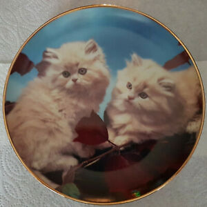 """""""Autumn Companions"""" by Danbury Mint Collector Plate- Charity Sale"""
