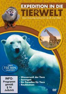Expedition in die Tierwelt [DVD/NEU/OVP] Dokumentation mit 760 Minuten