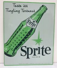 Vintage Reproduction Soda pop Sprite  Mancave Sign