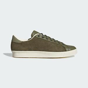 adidas Originals Rod Laver Vin Leather Shoes Green