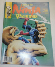 Ninja Warriors Magazine The Demon Wars May 1988 081914R