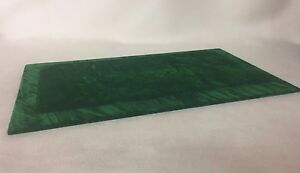 Serving / Counter Mat - Jewellery Display - Antique Green Suede *Made in the UK*