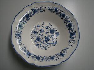 "Hankook Seine Blue Pattern Vegtable Serving Bowl 9"""