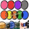 58mm Complete  Full Color / ND 2 4 8 Lens Filter For Nikon Canon DSLR SLR Camera