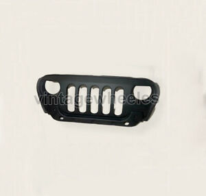 Fit For Mahindra Thar CRDE Jeeps Fiber Front Wrangler Black Grill Grille black
