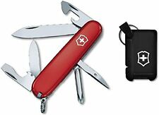 Victorinox Swiss Army Red Tinker With Carbide Sharpener Red 91mm Combo Set 59112