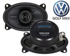CRUNCH6x4 ALTOPARLANTE COASSIALE per VW Golf 2 - 1983-1992 VESTIBILITÀ PERFETTA