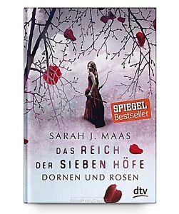 Das Reich der sieben Höfe – Dornen und Rosen von Sarah J. Maas * Taschenbuch Neu