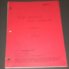 "MARY HARTMAN, MARY HARTMAN ~ORIG. TV SCRIPT ""#318"" ~ STUDIO COVER FINAL ~ VF/XF!"