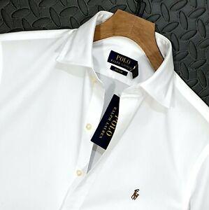 """⭐ Mens Polo Ralph Lauren regular fit Regent formal business shirt 15.5 M 38-40"""""""