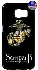 Marines Corps USMC Hard TPU Cover Case For Samsung Galaxy S10e S10 + S9 Plus S8