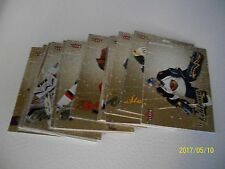 LOT OF 26 FLEER ULTRA GOLD + ICE MEDAILLON 2008-09 INCLUDE STARS AND 3 ROOKIES