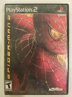 Spider-Man 2 the Movie Black Label Sony Playstation 2 PS2 TESTED CIB FREE S/H