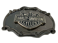 Vintage 70s Harley Davidson Belt Buckle Raintree Brass Shield And Bar 1978