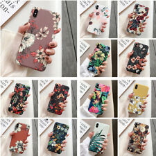 For Apple iPhone 11 XS Max XR X 8 7 Plus 6s Flower Cute Silicone Soft Case Cover
