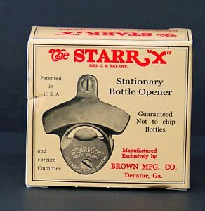 The STARR X Stationary Bottle Opener from Restoration Hardware NOS
