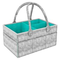 Portable Large Diaper Caddy Tote Baby Diaper Caddy Organizer Portable I4X7