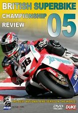 BRITISH SUPERBIKE REVIEW 2005 DVD. GREGORIO LAVILLA. 230 Min. DUKE 1680NV